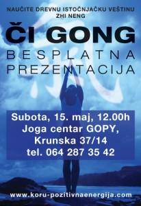 Či gong prezentacija u Beogradu